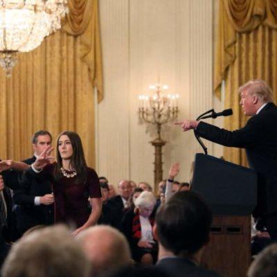 CNN sues Trump to restore reporter's White House access