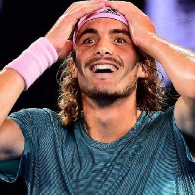 Stefanos Tsitsipas qualifies for the Australian Open semifinals